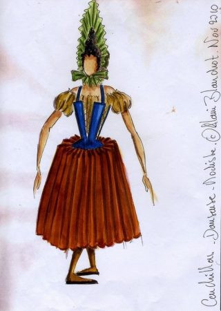 maquette de costume