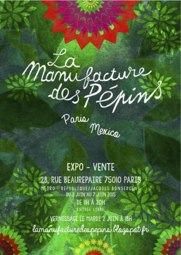 «Paris – Mexico» : Exposition – Vente